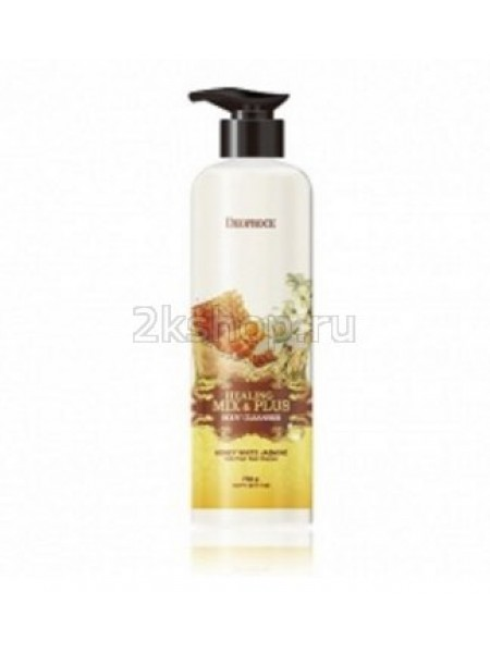 Deoproce Healing Mix & Plus Body Cleanser Honey White Jasmine  Гель для душа мед и жасмин