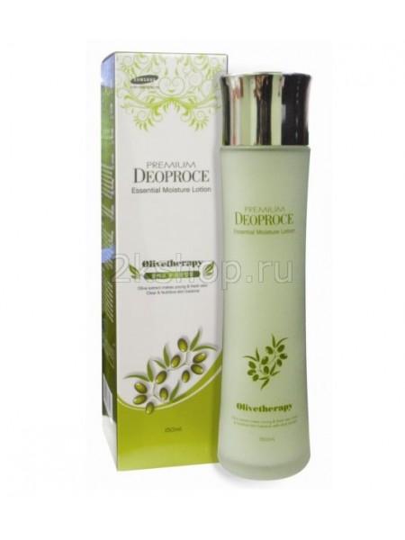 Deoproce Premium Olivetherapy Essential Moisture Lotion Лосьон увлажняющий с маслом оливы