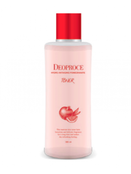 Deoproce Hydro Antiaging Pomegranate Toner  Тонер для лица антивозрастной с экстрактом граната