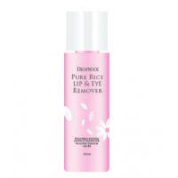 Deoproce Pure Rice Llip Eye Remover Средство для снятия макияжа с глаз и губ на основе экстракта риса