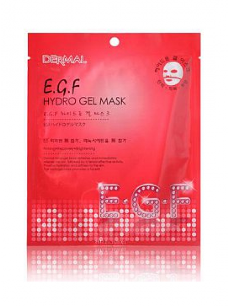 DERMAL EGF Hydro gel mask Гидрогелевая маска с фактором EGF и экстрактами трав