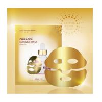 Фольгированная  маска для лица c золотом и пептидами Dermal Shop Gold Flash Dermal Shop Gold Flash
