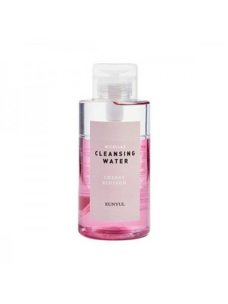 EUNYUL Micellar Cleansing Water Cherry Blossom Мицеллярная очищающая двухфазная вода с вишневым цветом