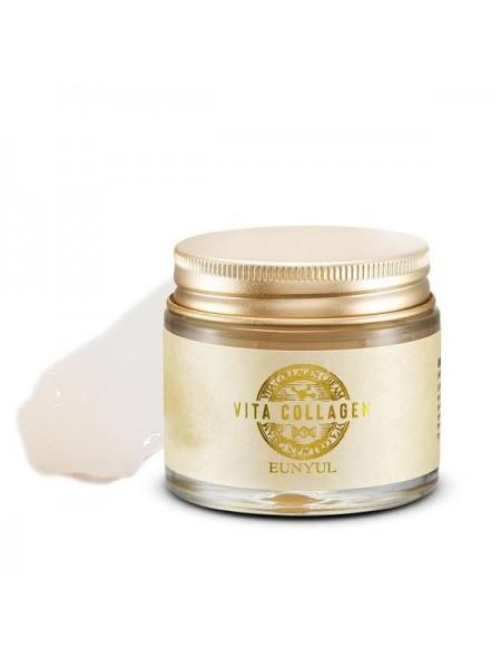EUNYUL Vita Collagen Cream Омолаживающий крем с коллагеном и пептидами