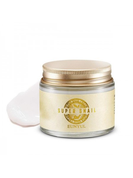 EUNYUL Super Snail Cream Высококонцентрированный крем с муцином улитки