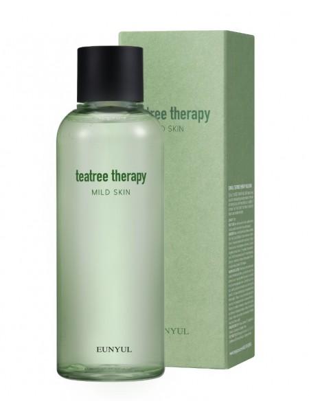 Тонер с экстрактом  чайного дерева EUNYUL Tea Tree Therapy Mild Skin