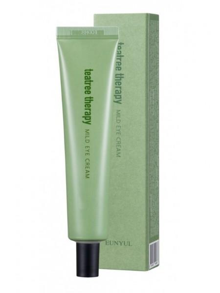Крем для кожи вокруг глаз с экстрактом  чайного дерева EUNYUL Tea Tree Therapy Mild Eye Cream