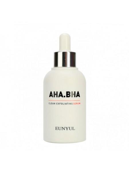 Сыворотка с  кислотами AHA и BHA EUNYUL AHA.BHA Clean Exfoliating Serum