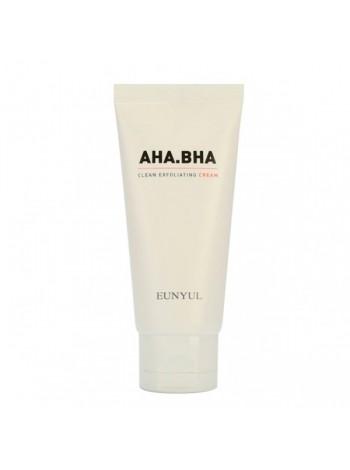 EUNYUL AHA.BHA Clean Exfoliating Cream Обновляющий крем с AHA и BHA кислотами для чистой кожи