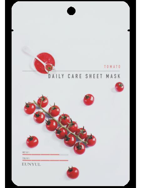 EUNYUL Tomato Daily Care Sheet Mask Тканевая маска для лица с экстрактом томата