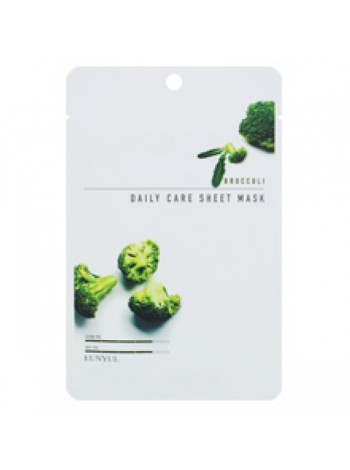 EUNYUL Broccoli Daily Care Sheet Mask Тканевая маска для лица с экстрактом брокколи