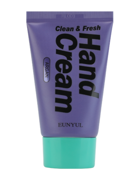 Крем для рук с аргановым маслом EUNYUL Clean & Fresh Argan Hand Cream