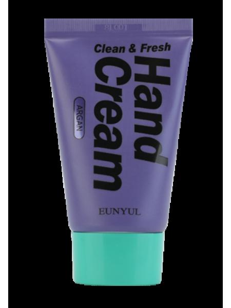 Крем для рук с аргановым маслом EUNYUL Clean & Fresh Argan Hand Cream