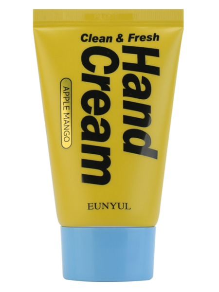 Крем для рук с манго EUNYUL Clean & Fresh Apple Mango Hand Cream