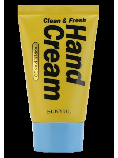 Крем для рук с манго EUNYUL Clean & Fresh Apple Mango Hand Cream
