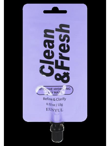 EUNYUL Clean & Fresh Intensive Hydrating Clay Mask Глиняная маска интенсивно увлажняющая