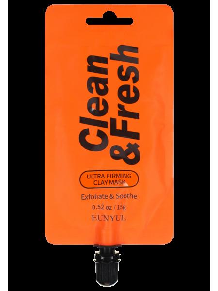 EUNYUL Clean & Fresh Ultra Firming Clay Mask Глиняная маска для повышения упругости кожи