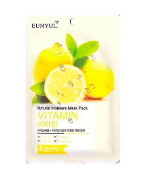 EUNYUL Natural Moisture Mask Pack  Vitamin  Витаминная увлажняющая тканевая маска для лица