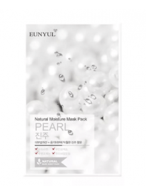 EUNYUL Natural Moisture Mask Pack Pearl  Осветляющая тканевая маска для лица