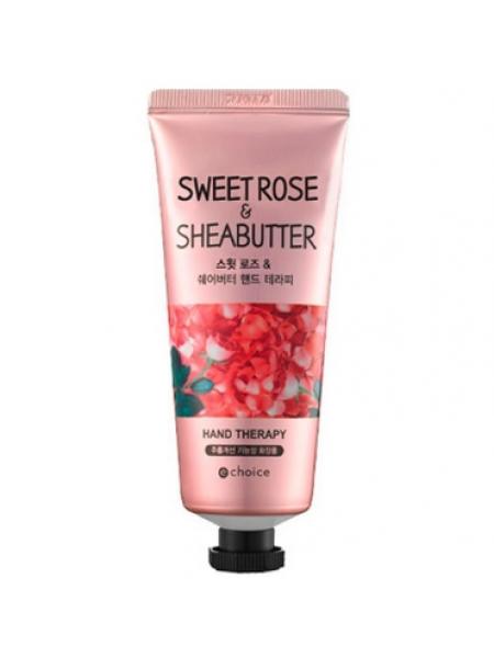 Крем для рук с маслом Ши и экстрактом розы Echoice Sweet rose&sheabutter hand therapy 60g