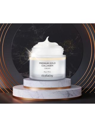 Премиальный антивозрастной крем с золотом и коллагеном Elishacoy Premium Gold Collagen Cream