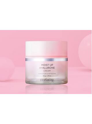 Elisha Coy Moist up super hyalurone cream  Супер увлажняющий крем с гиалуроновой кислотой