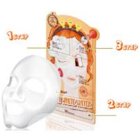 Elizavecca 3-step Aqua White Water Mask Pack Увлажняющая 3-шаговая маска для лица
