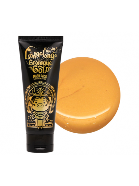 Elizavecca Hell-Pore Longolongo Gronique Gold Mask Pack  Золотая маска-пленка