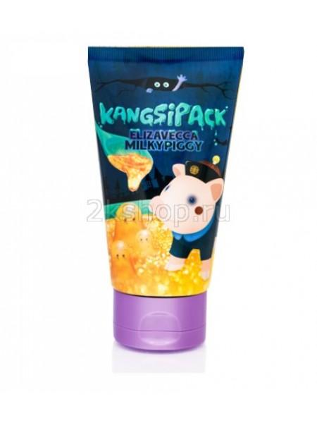 Elizavecca Kangsipack Milky Piggy  Очищающая маска с экстрактом золота