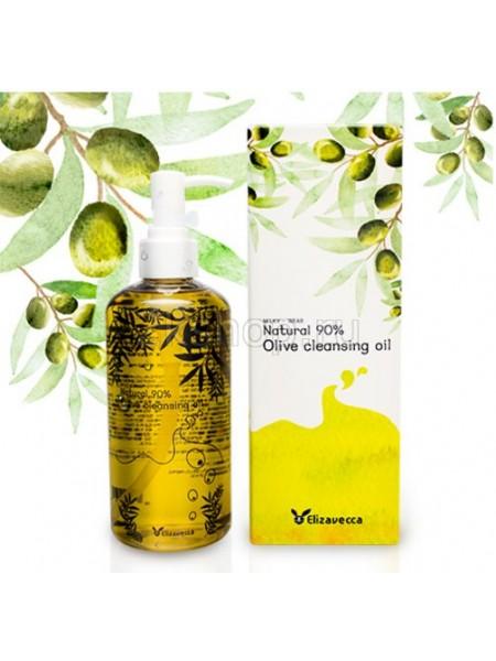 Elizavecca Гидрофильное масло  с оливой Elizavecca Olive 90% Cleansing Oil 300 мл