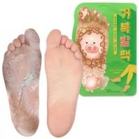 Отшелушивающие пилинг-носочки Elizavecca Witch Piggy Hell Pore Turtle's Foot Pack