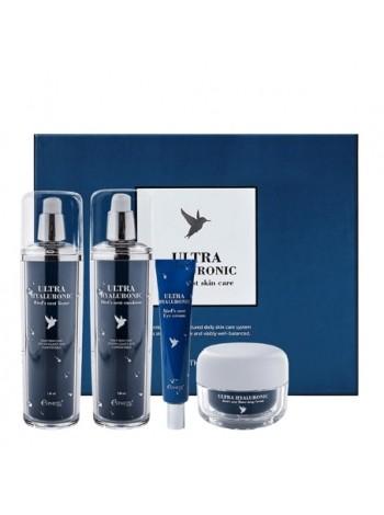 Подарочный набор для лица с экстрактом ласточкиного гнезда Esthetic House Ultra Hyaluronic Acid Bird's Nest Skin Care Set