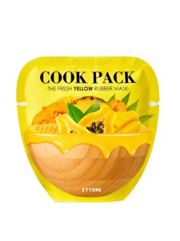 Ettang Cook Pack The Fresh Yellow Rubber Mask  Альгинатная питательная маска для лица