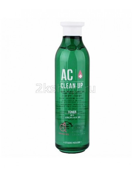 Etude House AC Clean Up Gel Toner Лечебный тонер для проблемной кожи