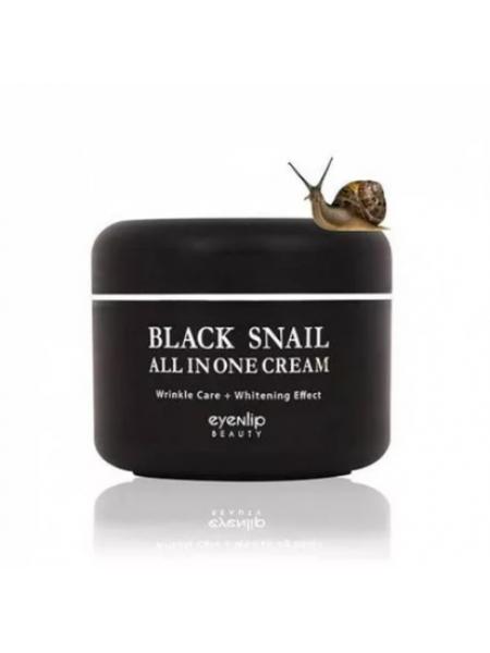 EYENLIP Black Snail All In One Cream 15ml  sample Крем для лица многофункциональный миниатюра
