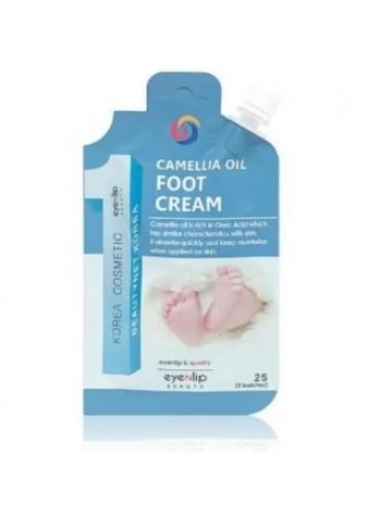 Крем для ног с маслом камелии Eyenlip Camellia Oil Foot Cream 25 гр
