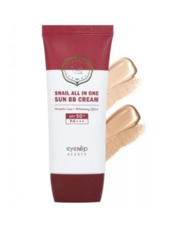 ББ крем с улиткой Eyenlip Snail All In One Sun BB Cream