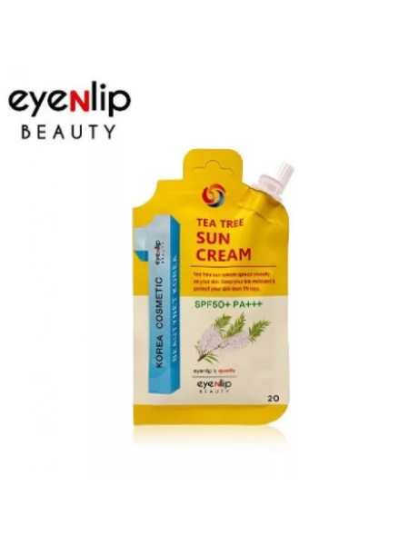 EYENLIP Tea Tree Sun Cream SPF50+ PA+++ Солнцезащитный крем SPF50+ PA+++