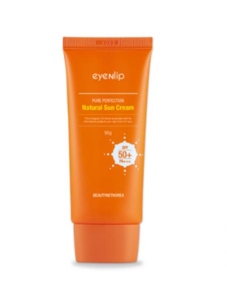 EYENLIP Pure Perfection Natural Sun Cream SPF50+/PA+++ Солнцезащитный крем для лица
