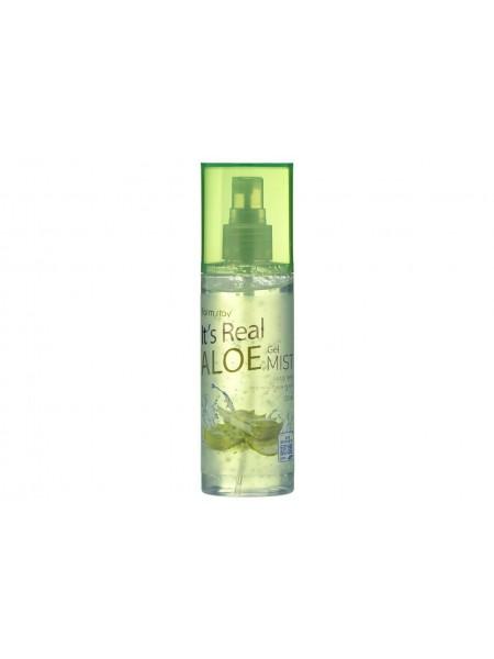 FarmStay It's Real Aloe Gel Mist Гель-спрей для лица с экстрактом алоэ