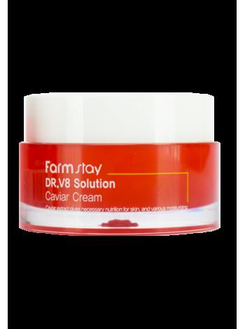 FarmStay Dr-V8 Solution Caviar Cream Крем с экстрактом икры