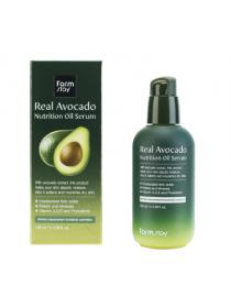 FarmStay Real Avocado Nutrition Oil Serum Питательная сыворотка с маслом авокадо