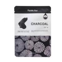 FarmStay Visible Difference Charcoal Mask Pack Тканевая маска с экстрактом угля