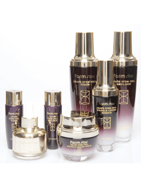 FarmStay Grape Stem Cell Skin Care 5Set Набор по уходу за кожей лица на основе стволовых клеток винограда 5 средств