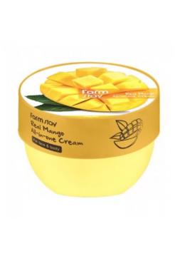 FarmStay Real Mango All-in-one Cream Многофункциональный крем с экстрактом манго для лица и тела