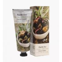 Питательный крем для рук с экстрактом оливы FarmStay Vsible Difference Hand Cream Olivel