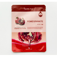 FarmStay Visible Difference Mask Sheet Pomegranat Тканевая маска с гранатом