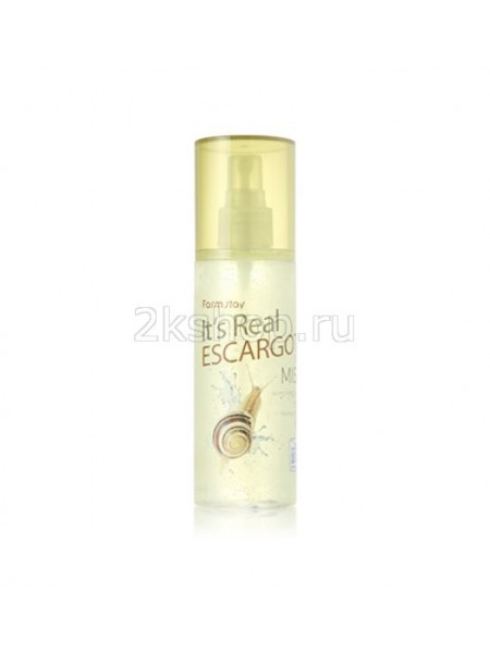 FarmStay It's Real Gel Mist ESCARGOT  Мист для лица  с экстрактом улитки