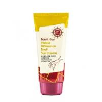 FarmStay Visible Difference Snail Sun Cream SPF50+ PA+++ Солнцезащитный крем с экстрактом улитки