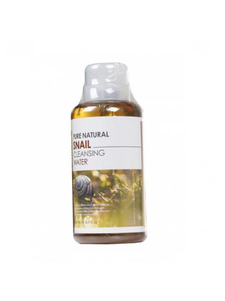 FarmStay Pure Cleansing Water Snail  Очищающая вода с экстрактом улитки